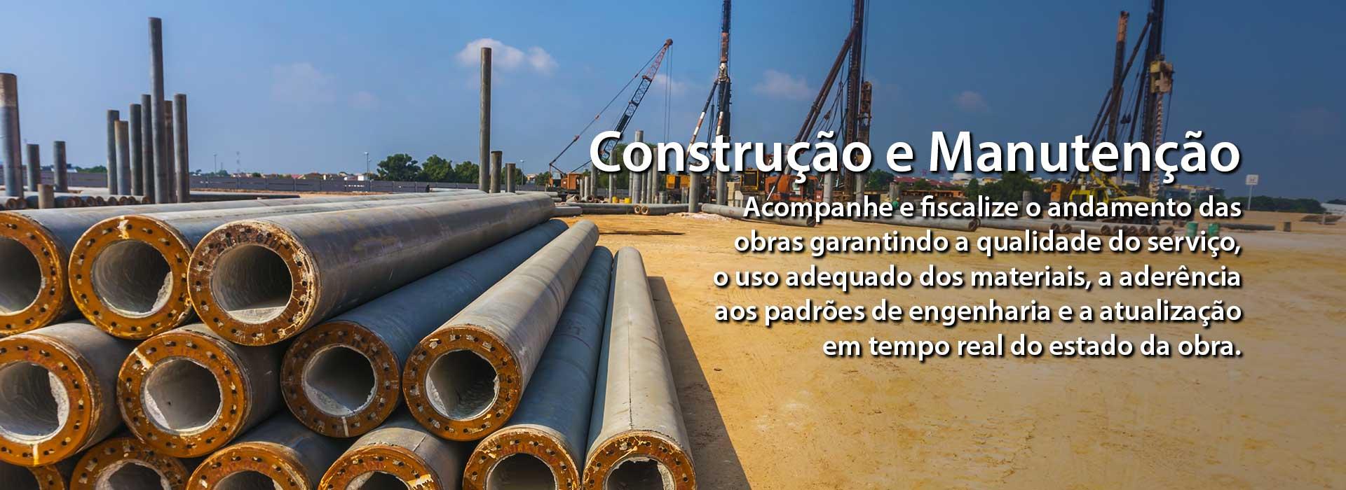 Acompanhe e fiscalize o andamento das obras garantindo a qualidade do serviço, o uso adequado dos materiais, a aderência aos padrões de engenharia e a atualização em tempo real do estado da obra.